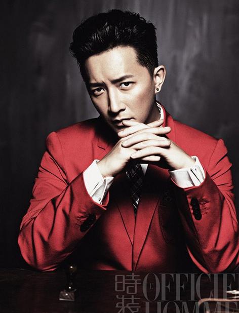 韩庚受邀《时装男士》杂志拍摄6月刊封面
